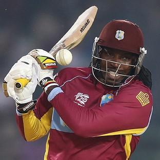 Chris Gayle top-scored with an unbeaten 58 (AP)