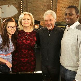 Burnley and Pendle Citizen: Georgia Harrup, Sally Barker and Bizzi Dixon make up 'Team Tom' on The Voice