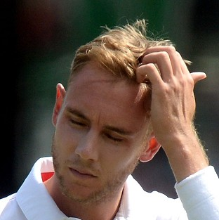 Stuart Broad remains a fitness concern for England