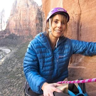 Alex Jones is nearing the end of her climbing challenge