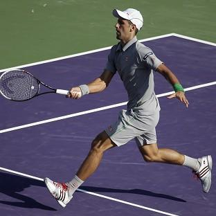 Novak Djokovic eased to victory in Miami (AP)