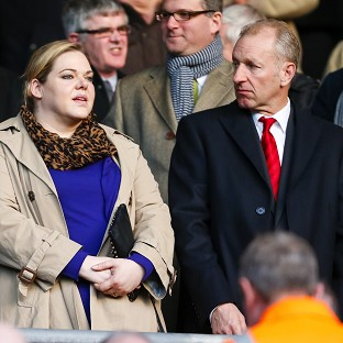 Southampton chairman Ralph Krueger, right, has welcomed the appointment