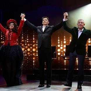 Nigel Harman's performance as Simon Cowell in The X Factor musical I Can't Sing! has won rave revi