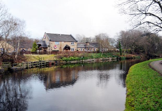 Burnley and Pendle Citizen: The canal where Mr Mayock was found in the water by joggers