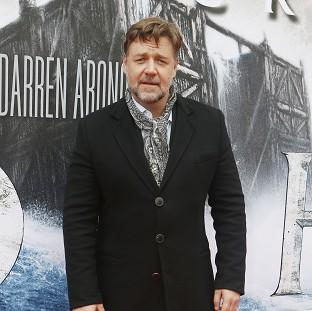 Burnley and Pendle Citizen: Russell Crowe attends the premiere of Noah at the Film House in Edinburgh