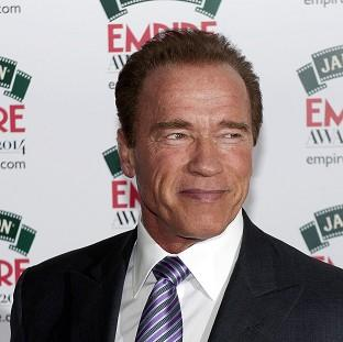 Arnold Schwarzenegger attending the Empire Magazine Film Awards held at th