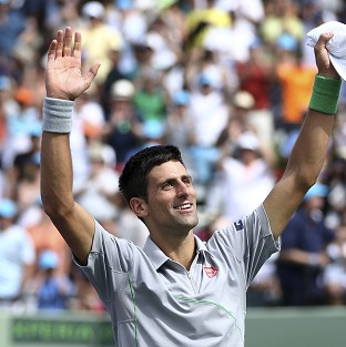 Novak Djokovic claimed a fourth Sony Open title (AP)