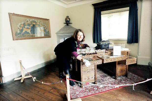 Burnley and Pendle Citizen: Textile enthusiasts treated to historic collection at Gawthorpe Hall