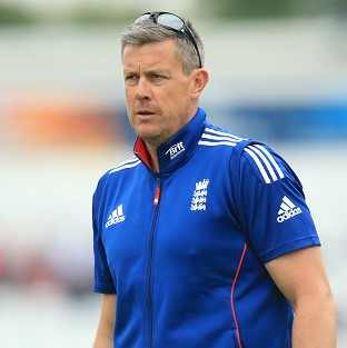 Ashley Giles, pictured, is the right man for the England job, according to Steve Harmison