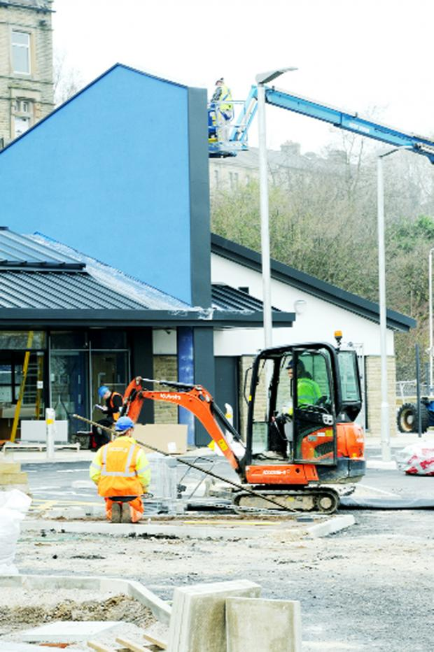 Burnley and Pendle Citizen: The new-look Manchester Road train station taking shape