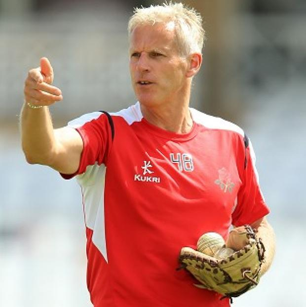 Burnley and Pendle Citizen: Peter Moores, pictured, is on a four-man shortlist along with Mick Newell, Ashley Giles and Trevor Bayliss