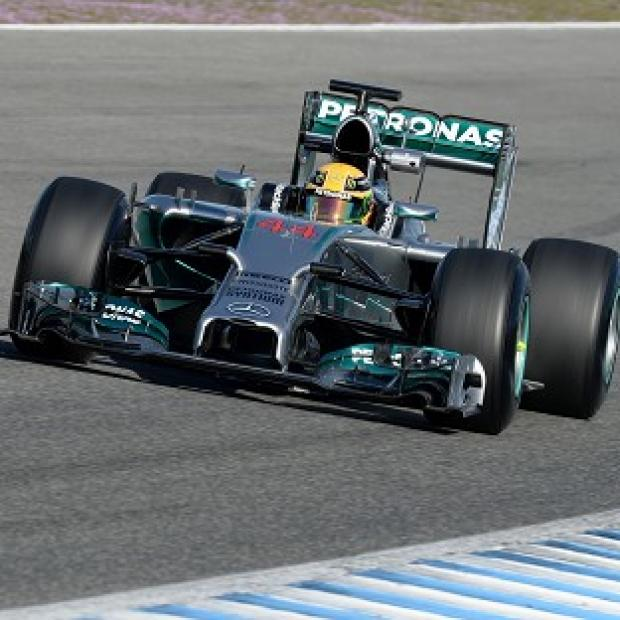 Burnley and Pendle Citizen: Lewis Hamilton finished fastest in the first practice in Bahrain