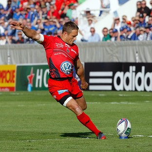 Jonny Wilkinson booted two penalties for Toulon
