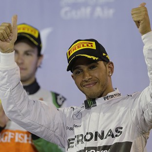 Lewis Hamilton claimed back-to-back wins for the first time in four year (AP)