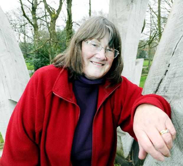 Burnley and Pendle Citizen: Padiham Memorial Park Friends chair Carol Stinton