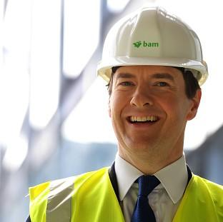 Burnley and Pendle Citizen: Chancellor George Osborne says Britain is going to have the most competitive export finance in Europe