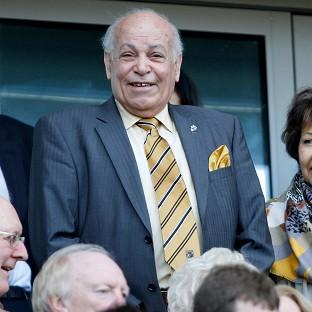 Assem Allam, centre, wants to chan