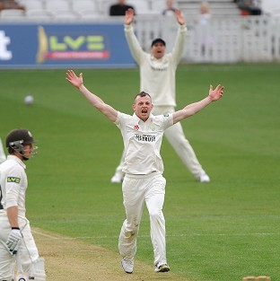 Glamorgan's Graham Wagg, pictured, was in fine form as his side beat Surrey by 10 wickets