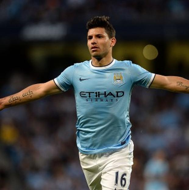 Burnley and Pendle Citizen: Sergio Aguero is set to make his return from injury against Liverpool