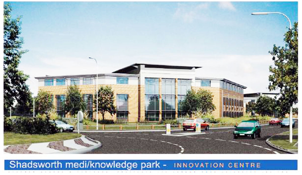 The council initially planned a Medi-Knowledge Park on the site