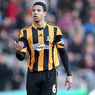 Curtis Davies, pictured, is playing for one of his idols