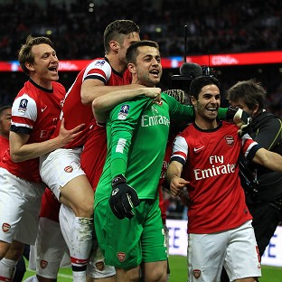 Fab day for Gunners