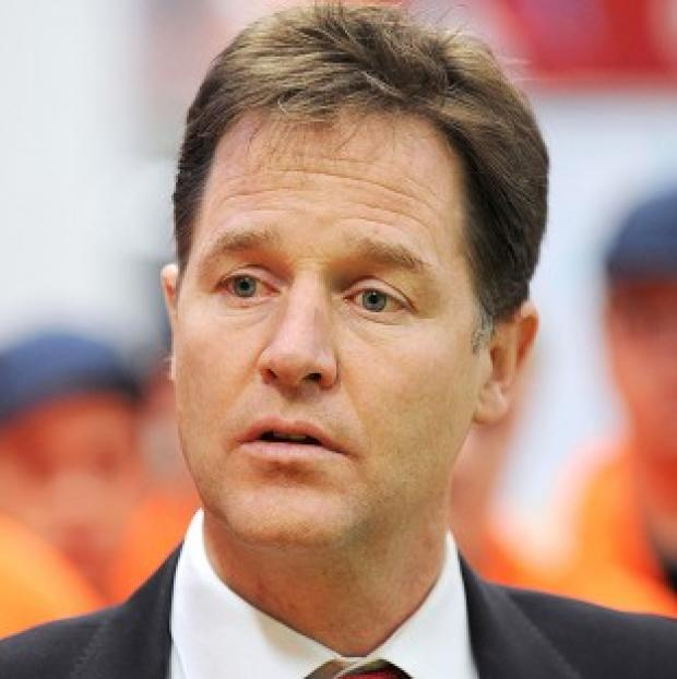 Burnley and Pendle Citizen: Deputy Prime Minister Nick Clegg is to announce plans for up to three garden cities