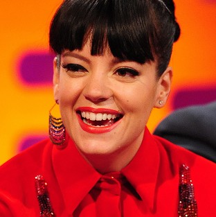 Lily Allen says her husband has asked her to tone down her performances