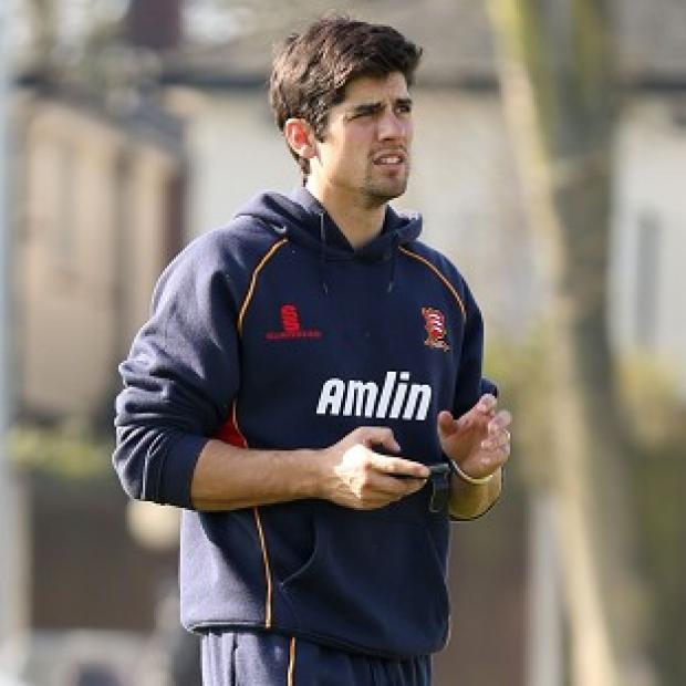 Burnley and Pendle Citizen: Alastair Cook was unbeaten on 139
