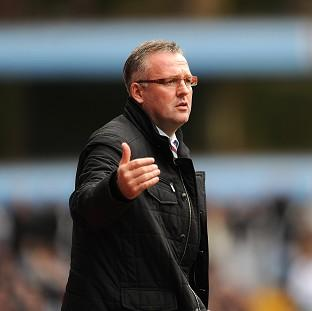 Burnley and Pendle Citizen: Paul Lambert has received support from Aston Villa' hierarchy