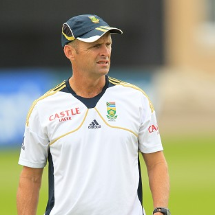 South Africa's head coach Gary Kirsten