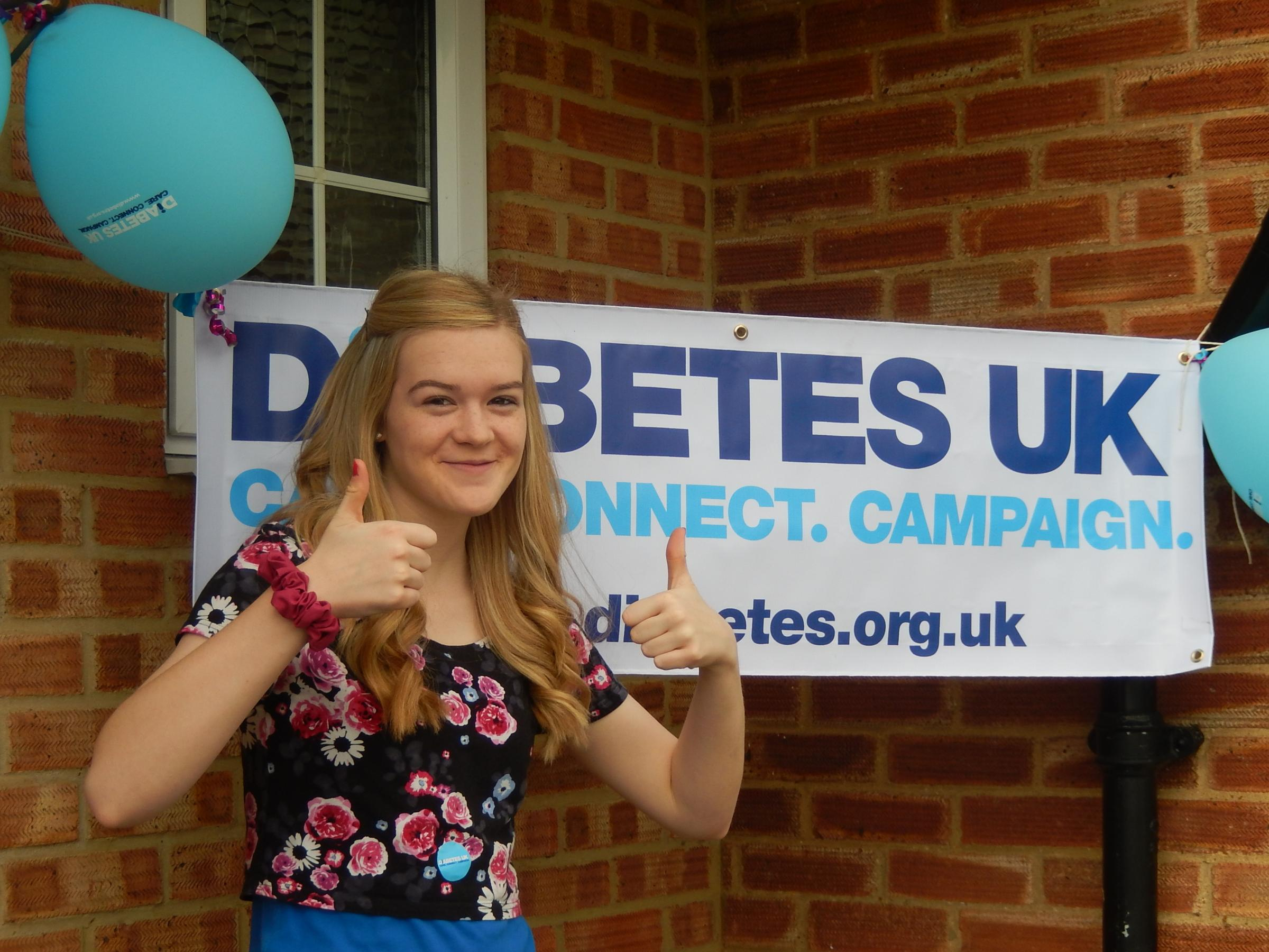 Join in Big Collection for Diabetes UK