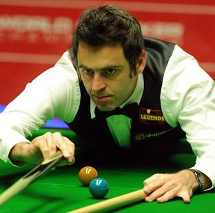 Burnley and Pendle Citizen: Ronnie O'Sullivan, pictured, has opened up a five-frame lead over Robin Hull