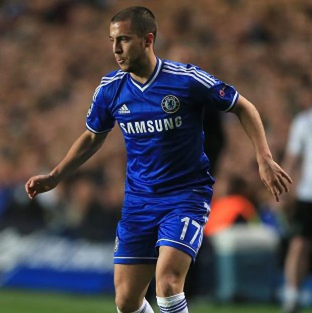 Burnley and Pendle Citizen: Eden Hazard missed Chelsea's open training session