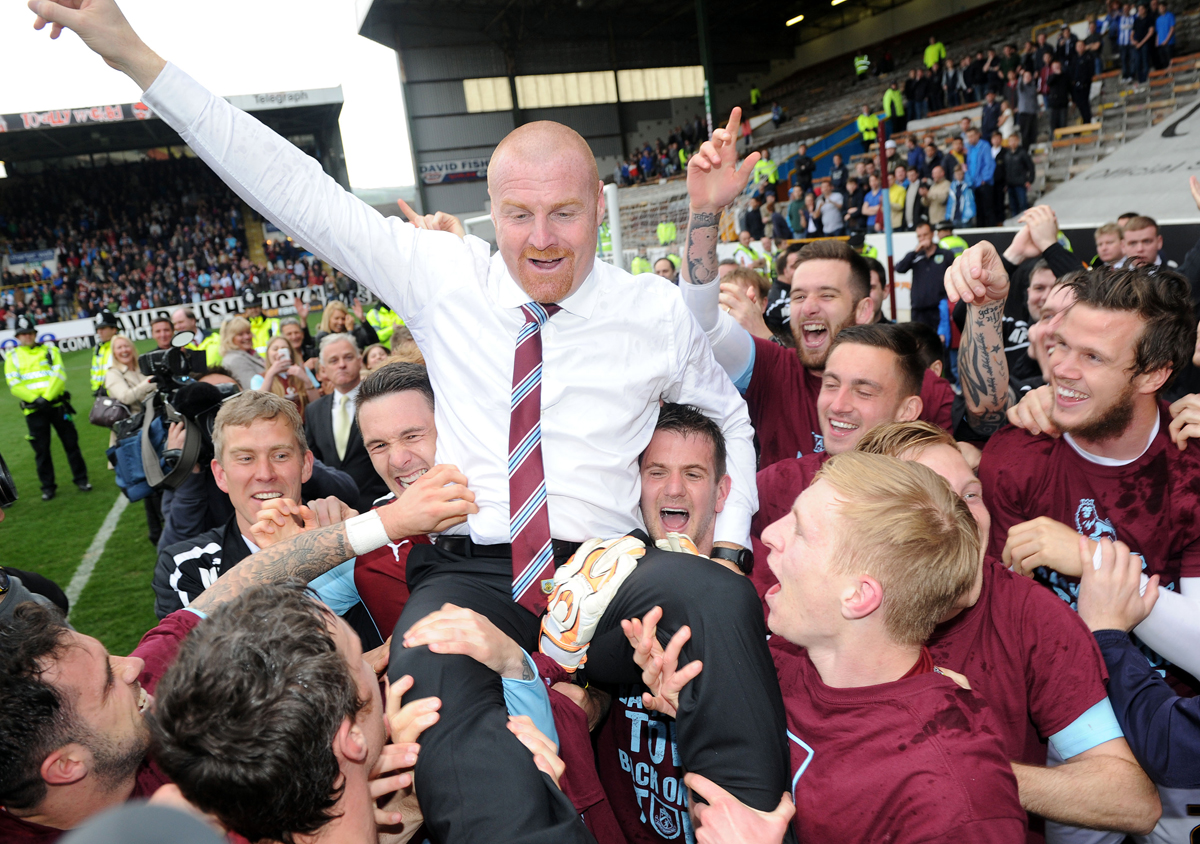 Burnley beat Wigan 2-0 to secure promotion