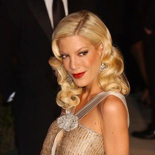 Tori Spelling has been addressing her marriage woes