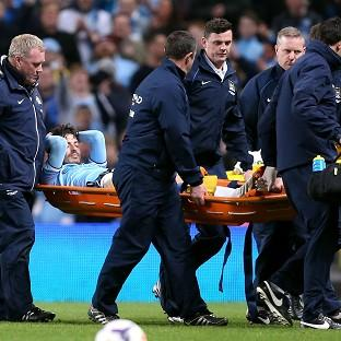 Manchester City do not yet know the extent of David Silva's injury