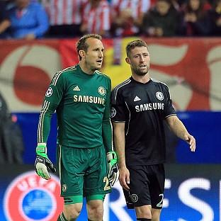 Gary Cahill, right, is hoping that history repeats itself