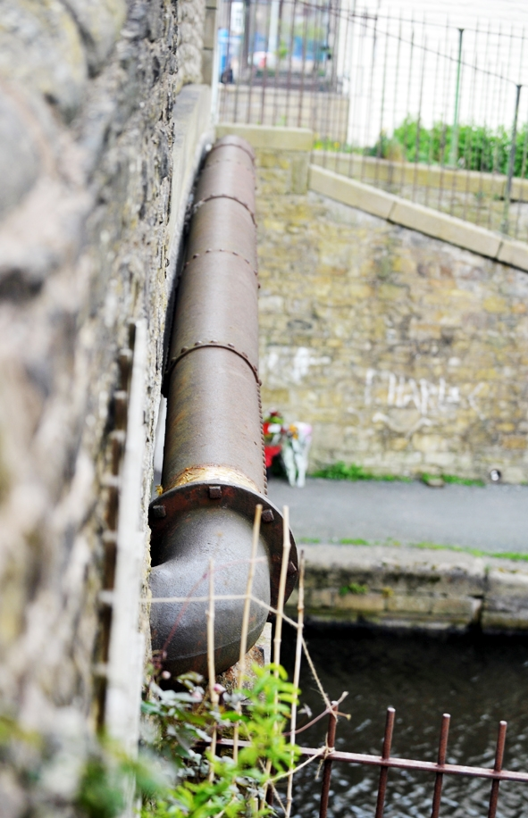 Boy rescued from Burnley canal