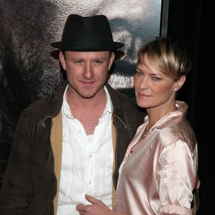 Robin Wright went on her first real date with Ben Foster