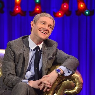 Martin Freeman has revealed Sherlock's writers are planning an exciting one-off special (Open Mike)