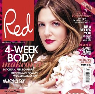 Burnley and Pendle Citizen: Drew Barrymore was speaking to Red magazine