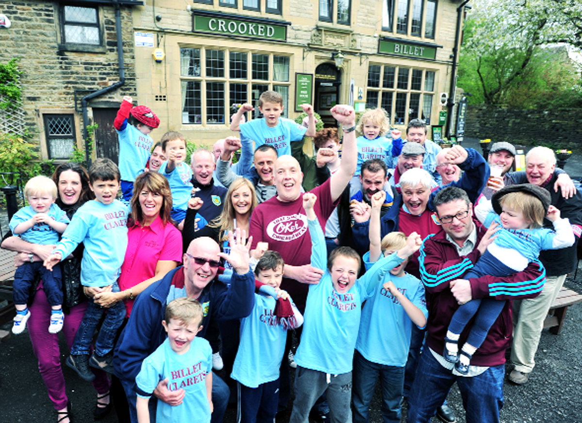 Burnley youngsters join promotion party