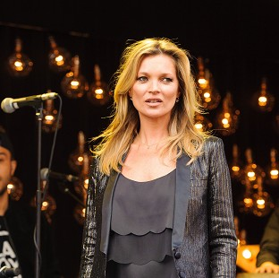 Kate Moss launches fashion line