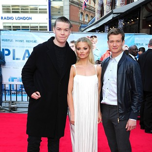 Will Poulter, Emma Rigby and Ed Speleers attend the premiere of Plastic