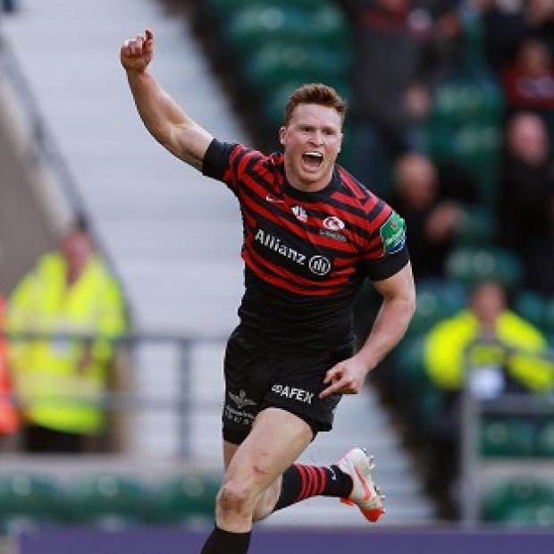 Burnley and Pendle Citizen: Chris Ashton, pictured, is back in contention for an England recall according to Danny Care