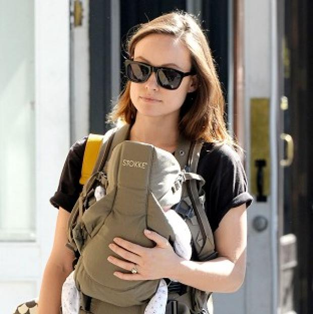 Burnley and Pendle Citizen: Olivia Wilde gave birth to her son Otis Alexander Sudeikis on April 23 (Rex)