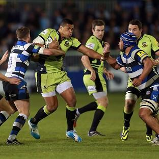 Northampton centre Luther Burrell
