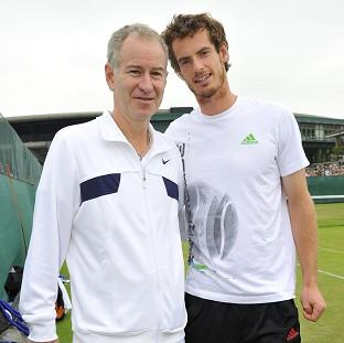 Burnley and Pendle Citizen: Andy Murray, right, could turn to John McEnroe, left, in his search for a coach