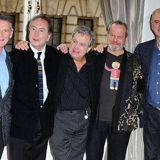 The Monty Python comedy troupe are releasing new tracks